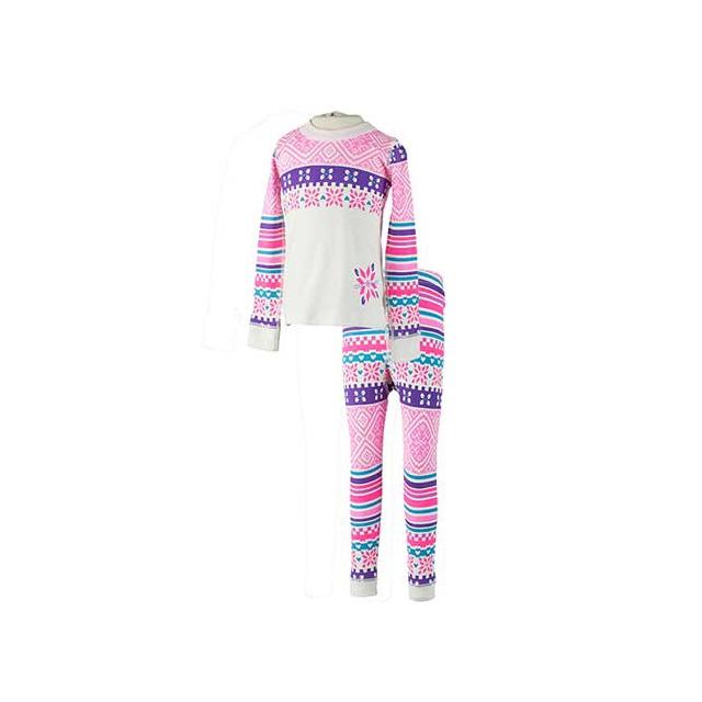 Obermeyer - Knit OberUndies Set - Girl's: Neo-Pink, Extra Small