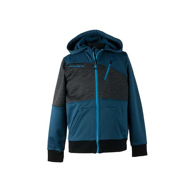 Obermeyer - Highlands Fleece Hoodie - Teen Boy's: Black, Small