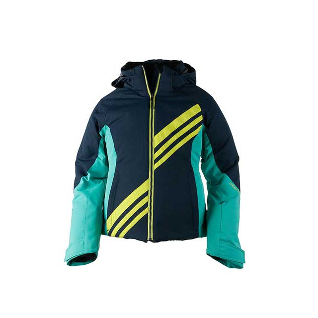 Obermeyer - Nateal Ski Jacket - Teen Girl's: Blue Iris, Extra Small
