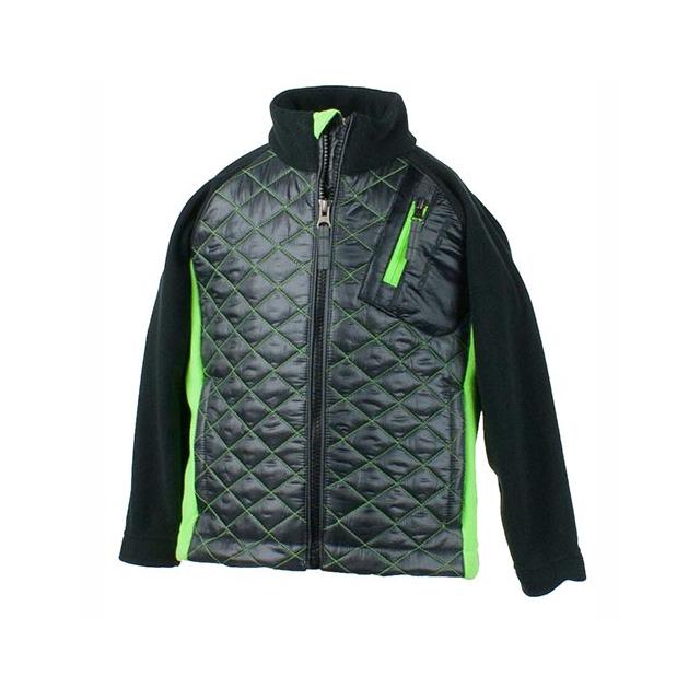 Obermeyer - Supercross Hybrid Jacket Little Boys', Ebony, S