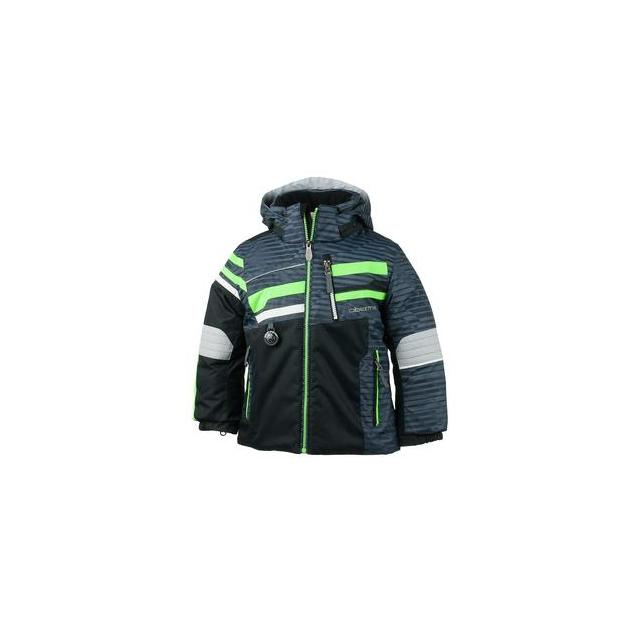 Obermeyer - Stryker Insulated Ski Jacket Little Boys', Stripeout Print, 2
