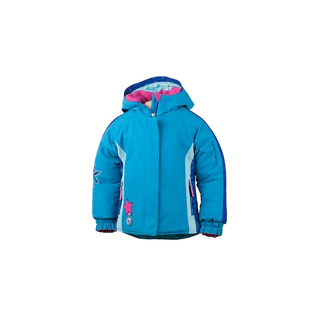 Obermeyer - Pico Insulated Ski Jacket Little Girls', Wild Pink, 2