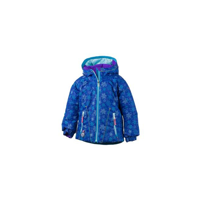Obermeyer - Arielle Insulated Ski Jacket Little Girls', Nordic Frost Print, 3