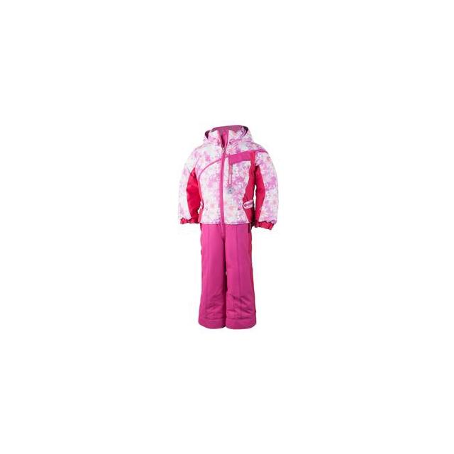 Obermeyer - Starlet Insulated Ski Suit Toddler Girls', Pink Alpen Print, 5