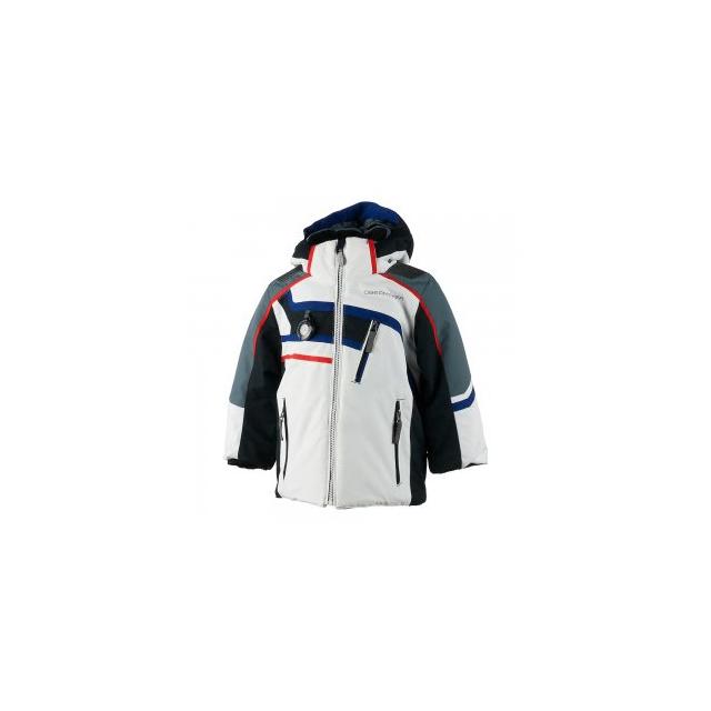 Obermeyer - Tomcat Insulated Ski Jacket Little Boys', White, 2