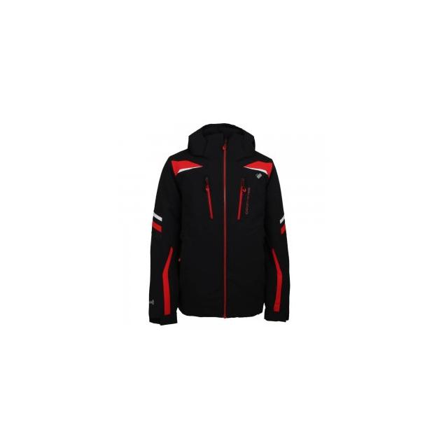 Obermeyer - Ryker Insulated Ski Jacket Boys', Black, L