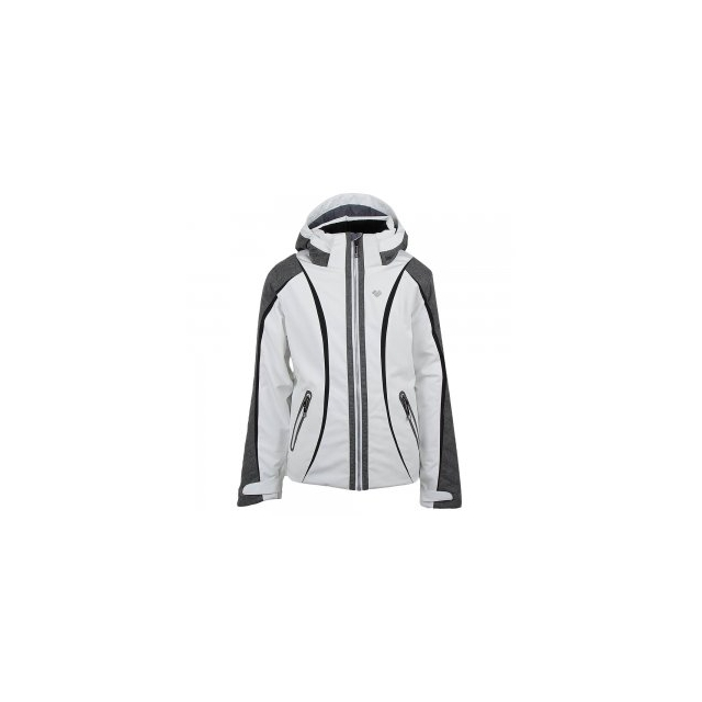 Obermeyer - Dyna Insulated Ski Jacket Girls', White, S