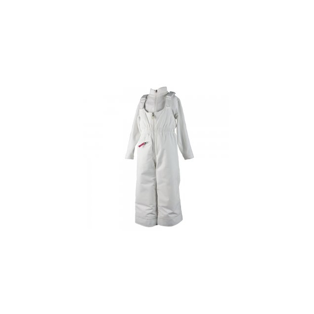 Obermeyer - Snoverall Insulated Ski Pant Little Girls', White, 1
