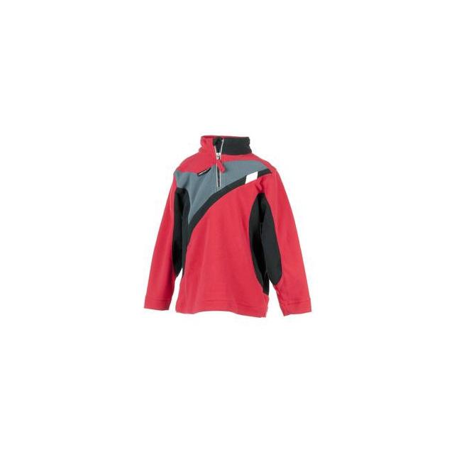 Obermeyer - Podium Fleece Top Little Boys', True Red, XS