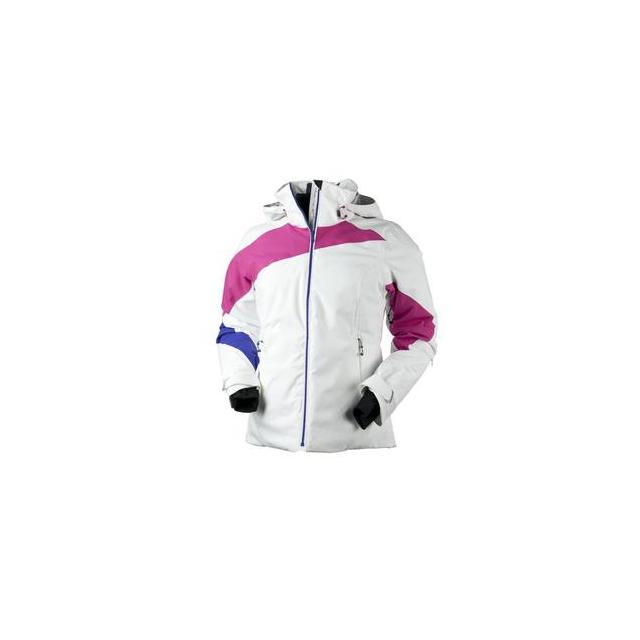 Obermeyer - Nova Insulated Ski Jacket Women's, Beetroot/White, 10