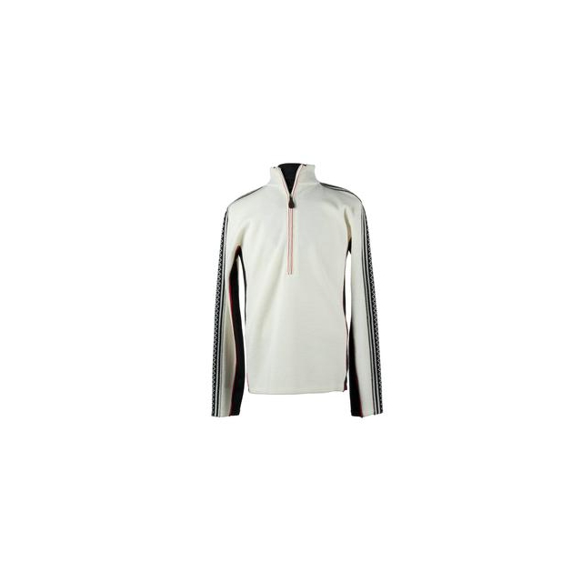 Obermeyer - Heli Sweater Men's, White/Black/True Red, S