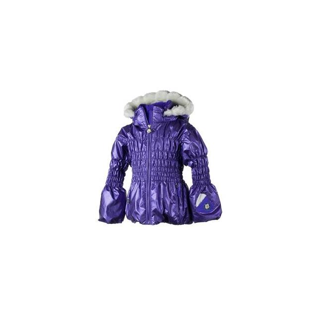 Obermeyer - Sheer Bliss Ski Jacket Little Girls', Grape, 2