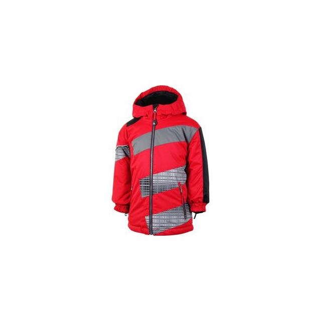 Obermeyer - Blizzard Ski Jacket Little Boys', True Red, 2