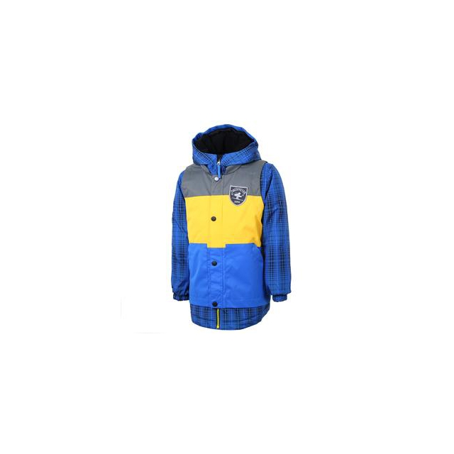 Obermeyer - Slopestyle Ski Jacket Little Boys', Electric Blue, 2