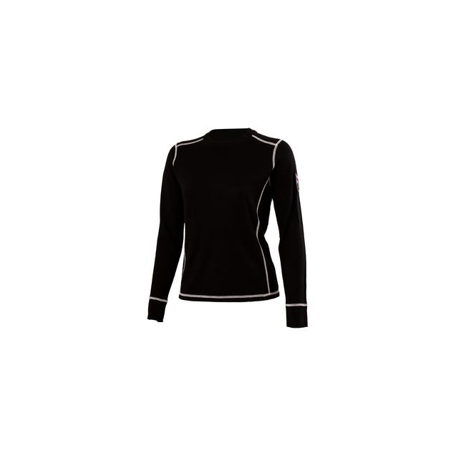 Obermeyer - Fiona Crew Neck Shirt Women's, Black, L