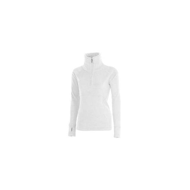Obermeyer - Brandi 1/2-Zip Fleece Top Women's, White, XL