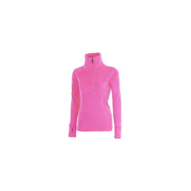 Obermeyer - Brandi 1/2-Zip Fleece Top Women's, Knockout Pink, XS
