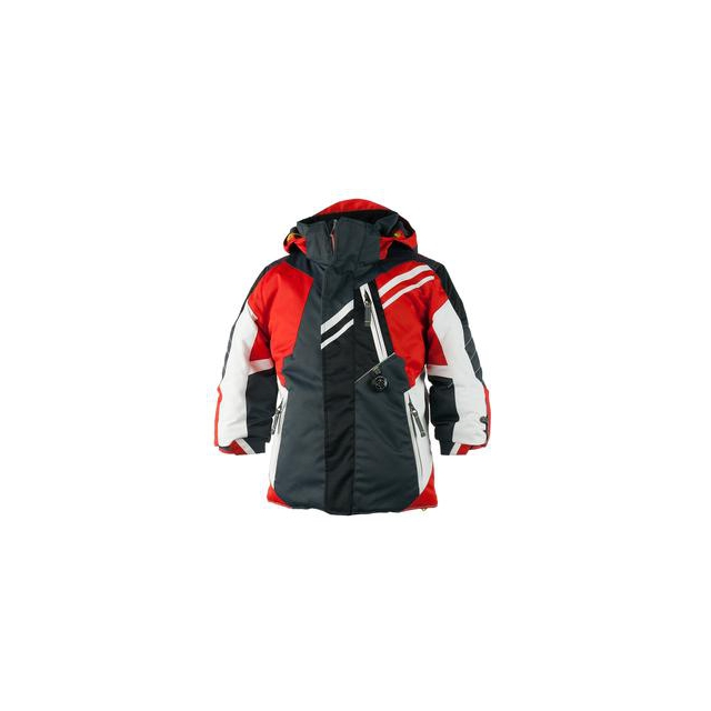 Obermeyer - Fusion Ski Jacket Little Boys', Lava, 2