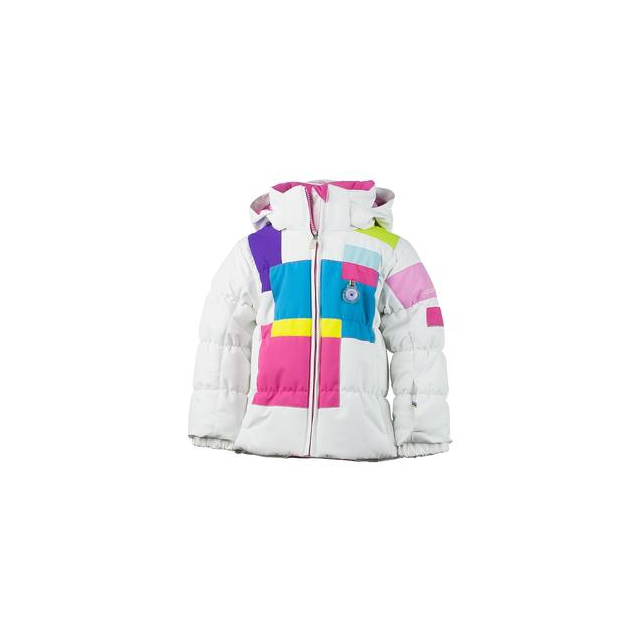 Obermeyer - Kitt Insulated Ski Jacket Little Girls', White, 2