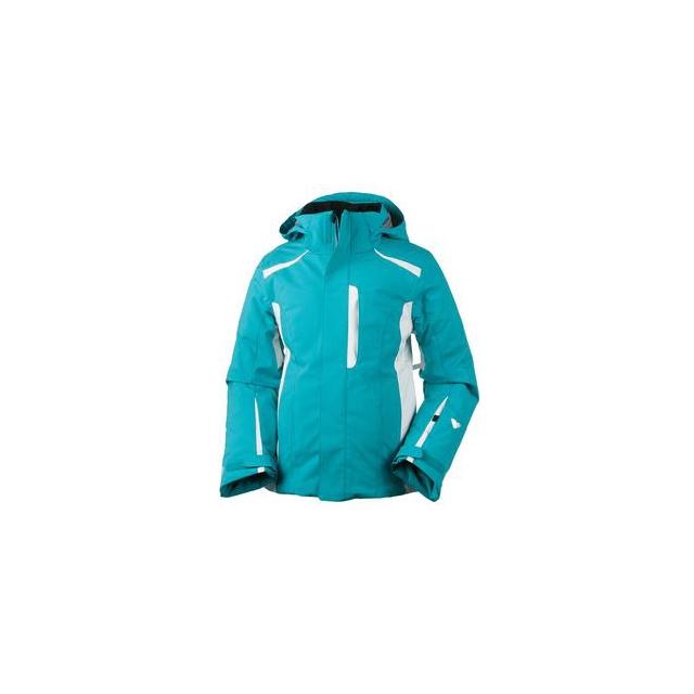 Obermeyer - Vivian Insulated Ski Jacket Girls', Mediterranean, S