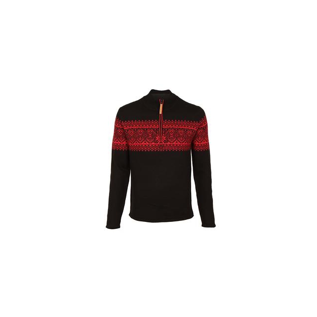 Obermeyer - Hemsedal 1/4-Zip Sweater Men's, Black, M