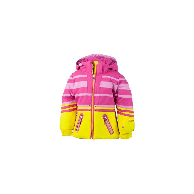 Obermeyer - Sundown Insulated Ski Jacket Little Girls', White, 2