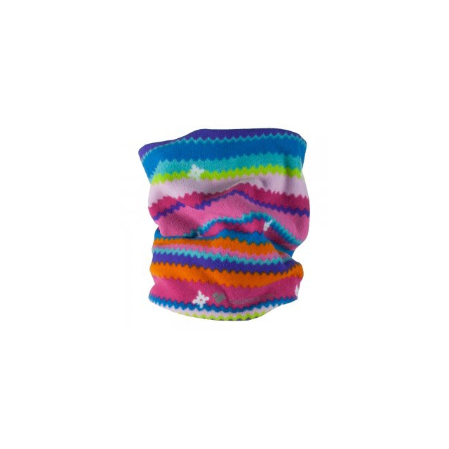 Obermeyer - Steeps Pro 100wt Neck Gaiter Kids', Scribble Stripe,