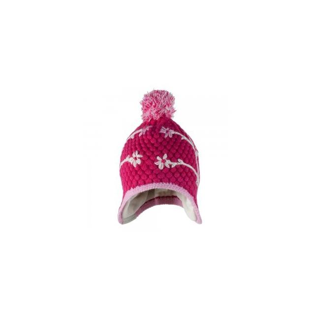Obermeyer - Flower Pop Knit Hat Little Girls', Glamour Pink,