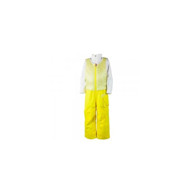 Obermeyer - Chacha Ski Bib Little Girls', Lemon, 3