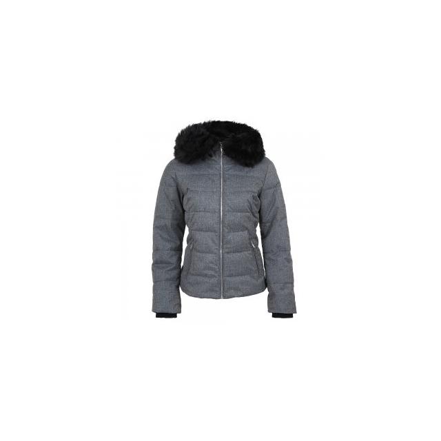 Obermeyer - Bombshell Insulated Petite Ski Jacket Women's, Charcoal, 8