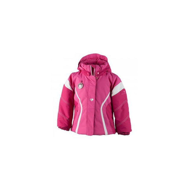Obermeyer - Aria Insulated Ski Jacket Little Girls', French Rose/Glamour Pink/White, 2