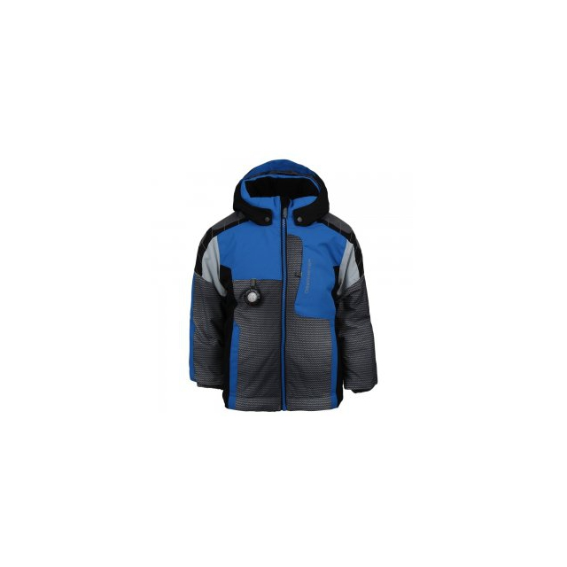 Obermeyer - Blaster Insulated Ski Jacket Little Boys', Stellar Blue, 2