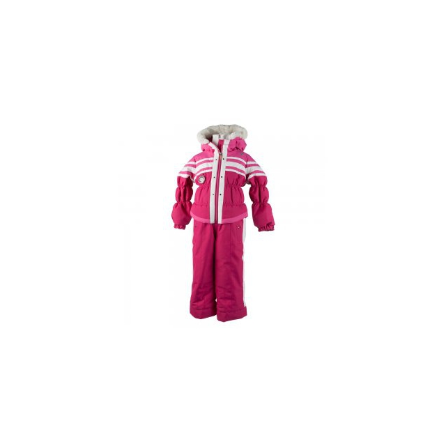 Obermeyer - Skiter Insulated Ski Suit Little Girls', Glamour Pink, 2