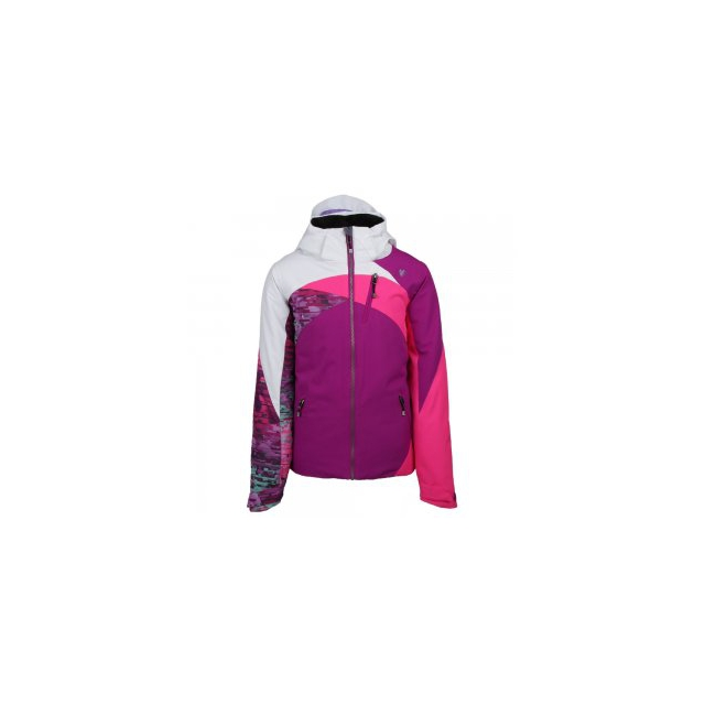 Obermeyer - Tabor Insulated Ski Jacket Girls', Violet Vibe, XS
