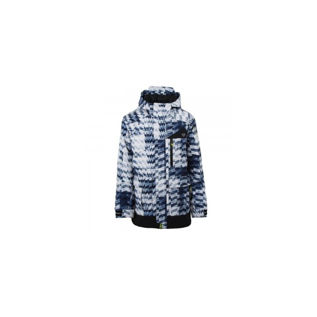 Obermeyer - Axel Insulated Ski Jacket Boys', Coat of Arms, L