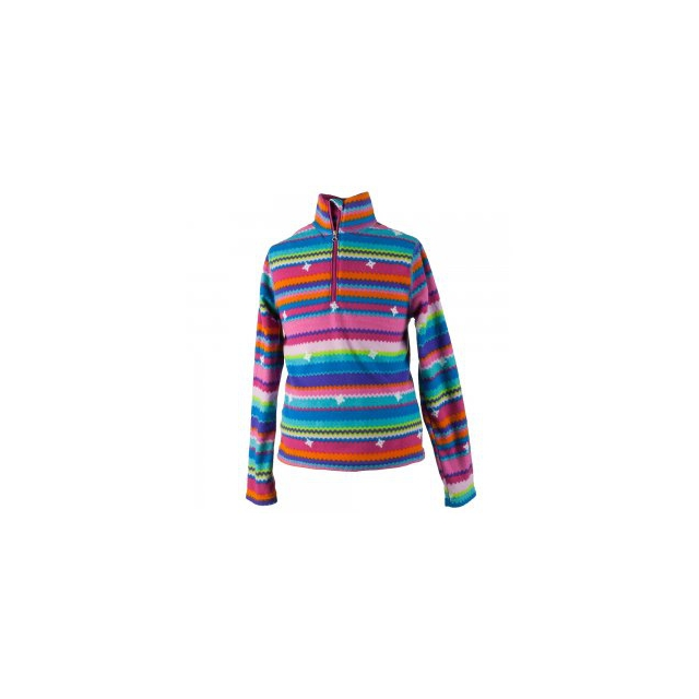 Obermeyer - Bomber Pro Fleece Top Kids', Scribble Stripe, S