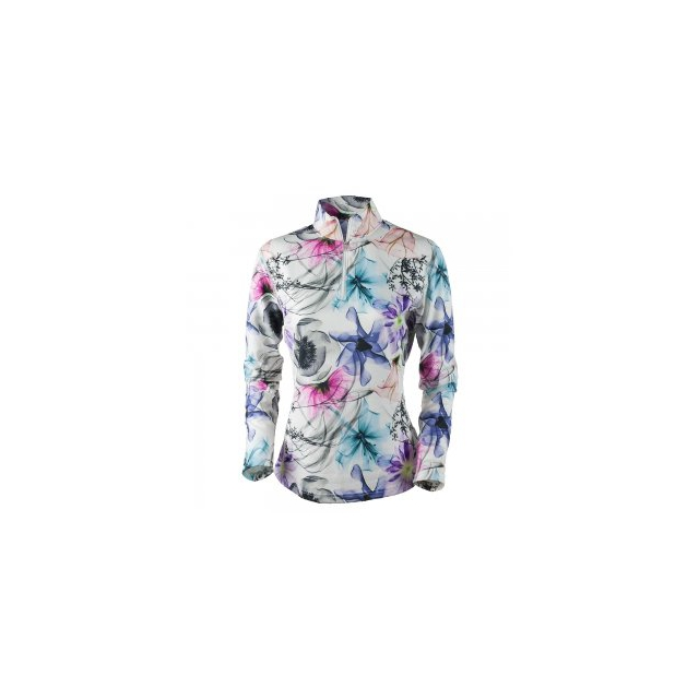 Obermeyer - Sage 75wt Turtleneck Mid-Layer Women's, Xray Floral, L