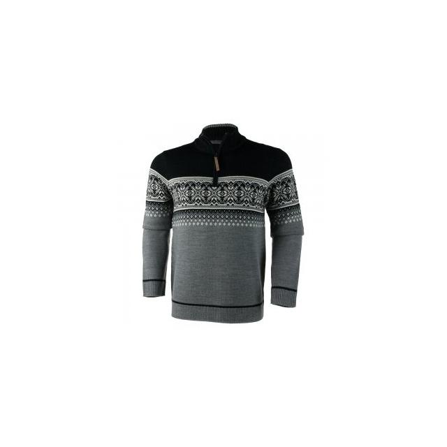 Obermeyer - Bryce 1/4-Zip Sweater Men's, Light Heather Grey, M