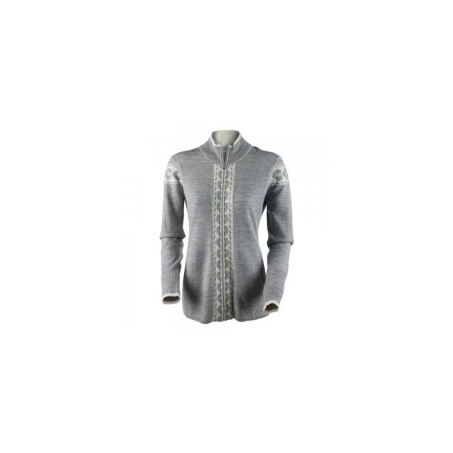 Obermeyer - Mia Knit Jacket Women's, Light Heather Grey, L