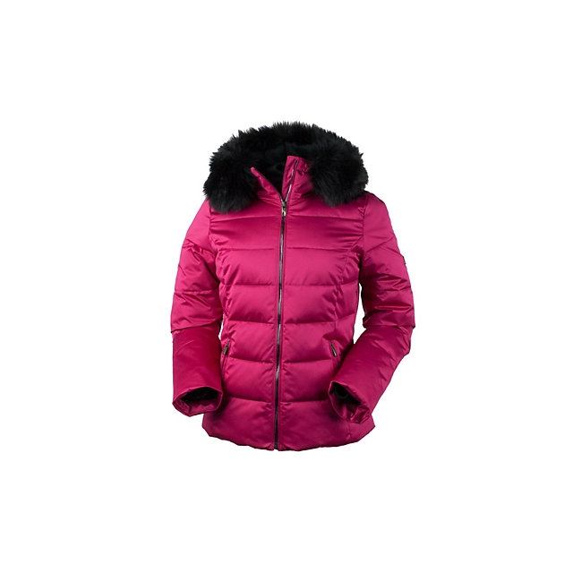 Obermeyer - Bombshell with Faux Fur Womens Insulated Ski Jacket