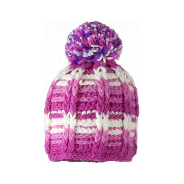Obermeyer - Ski School Knit Hat - Girl's - Closeout: Pink, Small/Medium