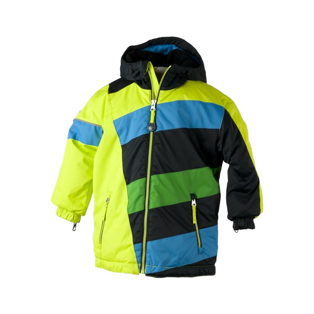 Obermeyer - Blizzard Jacket - Boy's: Lime Punch, 3