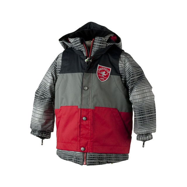 Obermeyer - Slopestyle Jacket - Boy's: True Red, 4