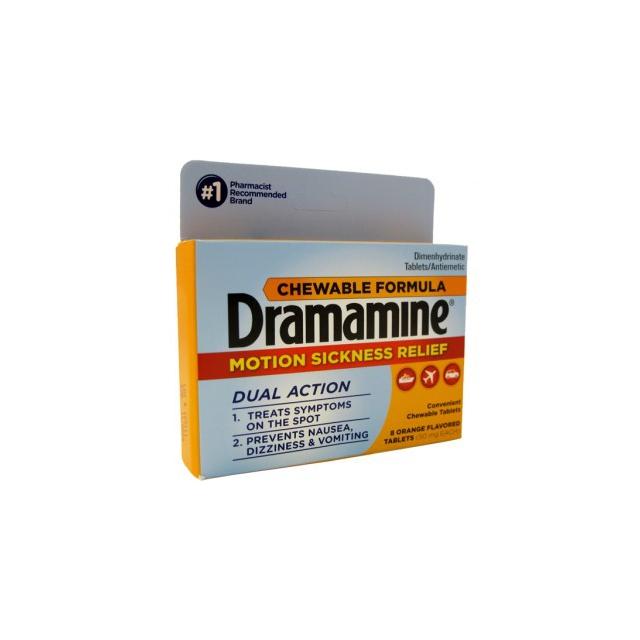 Adventure Medical Kits - Dramamine Chewable