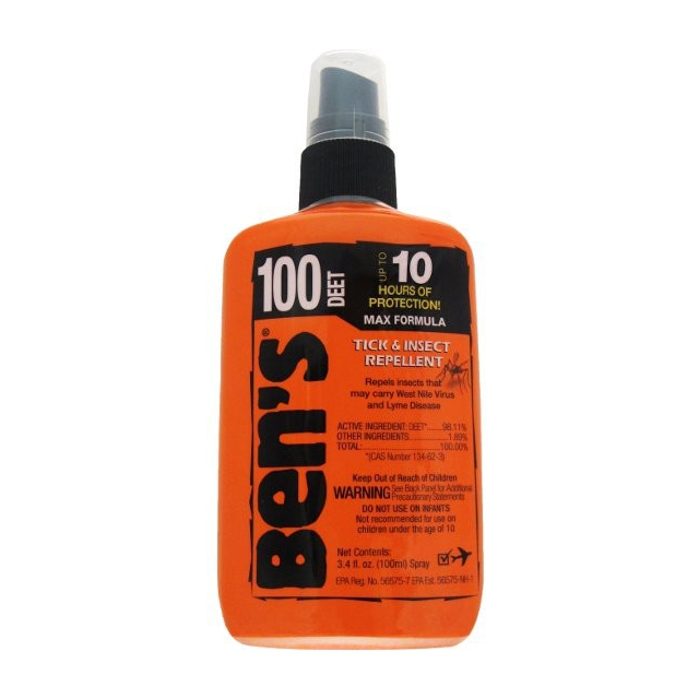 Adventure Medical Kits - Ben's 100 MAX  3.4oz Pump - uncarded