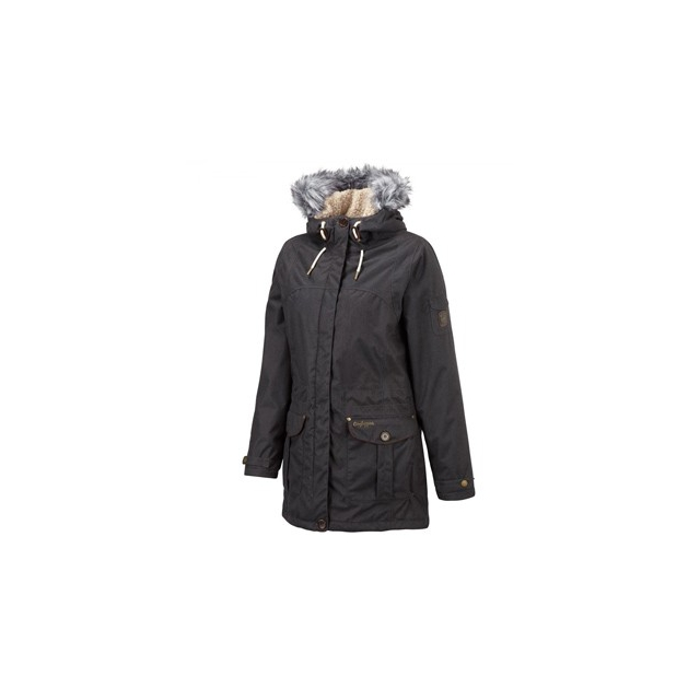 Craghoppers - Auton Jacket - Women's-Black Pepper Marl-10