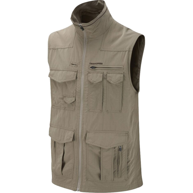 Craghoppers - National Geographic NosiLife Sherman Vest Mens - Pebble S