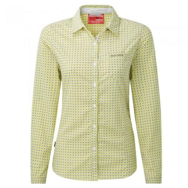 Craghoppers - Women's Insect Sheild Olivie Long Sleeved Button Up Shirt