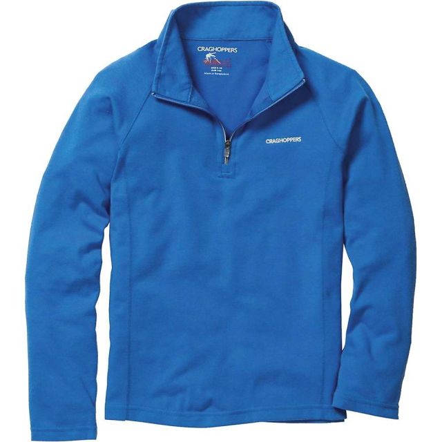 Craghoppers - Boys' Nosilife Ace LS Zip Neck Top
