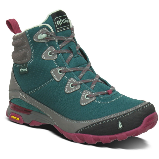 Ahnu - Sugarpine Waterproof Boot Womens - Deep Teal 8